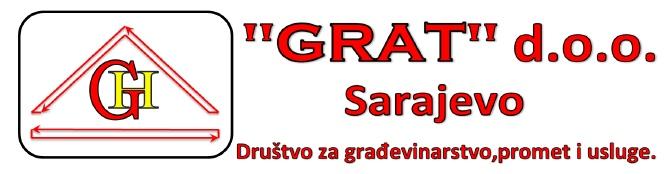 """""""GRAT""""d.o.o. Sarajevo"""